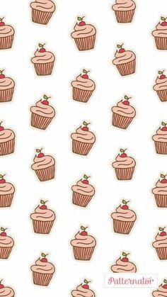 Wallpaper ~ Cupcake