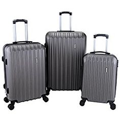 BEST TRAVEL 3Pcs Luggage Sets Travel Bag ABS Trolley Spinner Suitcase