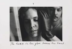 The pleasures of the glove, printed later) by Duane Michals :: The Collection :: Art Gallery NSW Poetry Photography, Portrait Photography, Duane Michals, Francesca Woodman, Photo Sequence, Human Condition, Photo Projects, His Hands, Art Gallery