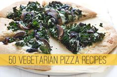 Spicy Mango Pizza With Black Beans and Zucchini. A great vegetarian pizza to use up all that zucchini in the garden.