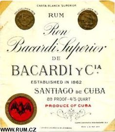 """In 1922 Emilio Bacardi opened a distillery in Santiago de Cuba, Cuba. Bacardí invited US-Americans to """"Come to Cuba and bathe in Bacardi rum"""" introducing:Hatuey Beer.Bacardi's international was due mostly to Schueg's """"business genius"""" who """"branded Cuba as Sic Semper Tyrannis, Cuba History, Vintage Cuba, Cuban People, Bacardi Rum, Fidel Castro, Cuban Cigars, Cuban Recipes, Carnival"""