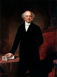 "He was the first president to be born a United States citizen. Of Dutch ancestry, he is the only US president who spoke English as a second language. As president, Van Buren was blamed for the depression of 1837; hostile newspapers called him ""Martin Van Ruin""."