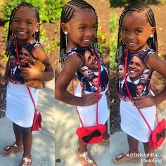 Excellent Screen kids Braided hairstyles Tips Braided hairstyles are extremely well-liked nowadays. I know that after you have been young, ones mo Toddler Braided Hairstyles, Toddler Braids, Black Kids Hairstyles, Girls Natural Hairstyles, Baby Girl Hairstyles, African Braids Hairstyles, Braids For Kids, Girls Braids, Little Girl Braid Hairstyles
