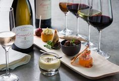 They have recently launched a tasting, paired with their Culinaria range of wines. Description from myfoodlove.com. I searched for this on bing.com/images