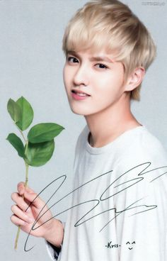 You know he's fhe one when he's perfect holding a leaf.