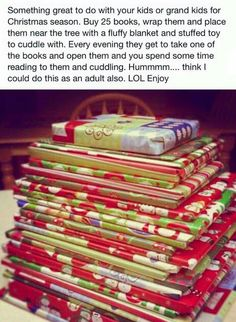 Great idea for my little book worm