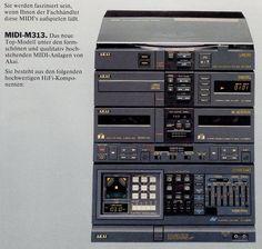 Akai 1986 Super Sons, Home Cinema Systems, Diy Amplifier, Music Power, Retro Radios, Tape Recorder, Televisions, Hifi Audio, Home Cinemas