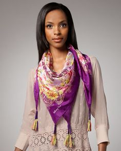 scarfs.....luv these colors:)
