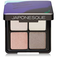 JAPONESQUE Velvet Touch Shadow Palette, Shade 03 >>> Click image for more details. (This is an affiliate link) #Eyes