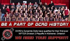 Demolition City Roller Derby is making their dreams a REALITY!!  Please consider helping this group of strong & talented women continue their journey of achieving goals, while representing Evansville, Indiana. Every little bit helps and there are tons of rewards for donating!! PLEASE SHARE!!