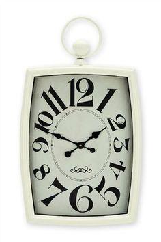 Buy Cream Wall Clock from the Next UK online shop Cream Walls, Big Cakes, Mantle Clock, Wall Clocks, Uk Online, Cosy, Butterflies, Hearts, Interior Design