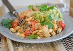#curry #matcha #healthy #peanuts #foodporn #asian #yummy #greenrice #chicken #fresh