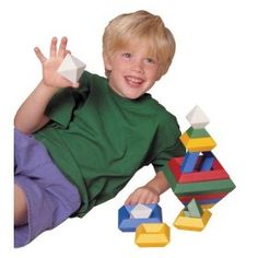 pyramid building - what a great idea for PapaJoJo's