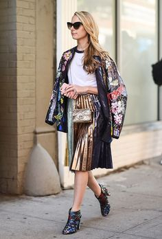 NYFW: The Best Street-Style Moments from the Spring 2017 Shows Pinterest: KarinaCamerino