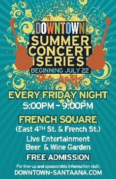 Downtown Santa Ana Summer Concert Series