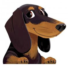 Discover Dachshund Car Sticker, a custom product made just for you by Teespring. With world-class production and customer support, your satisfaction is guaranteed. Dachshund Drawing, Dachshund Breed, Dachshund Funny, Arte Dachshund, Long Haired Dachshund, Dachshund Love, Cartoon Dog Drawing, Daschund, Dachshund Zeichnung