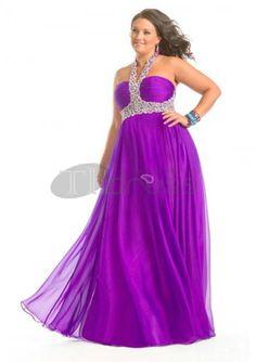 470612b30ed38 Plus Size Prom Dresses   Beaded V Neck Sweetheart Purple Plus Size Prom  Dresses   http