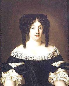 ca. 1669 Maria Virginia Borghese by Jacob Ferdinand Voet (Palazzo Chigi - Ariccia, Roma, Italy)