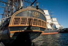 Tall Ships at San Diego Maritime Museum, San Diego, California