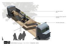 DesignApplause | A nod to the parklet.