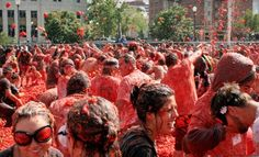 $25 for Entry to Tomato Battle at Pyramid Alehouse on Saturday, August 17 ($50 Value).  Food fight!!