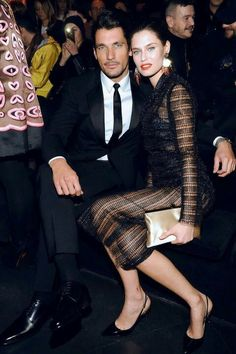 Ojos. David Gandy & ex-Bianca during happier times.