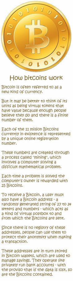 How #bitcoins work #finance #money