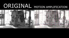 Análisis de vibraciones Motion Amplification Amplificacion de movimiento para mantenimiento predictivo