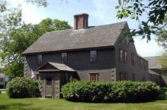 Isaac Winslow House. Marshfield, MA. Lots of paranormal stories, including my own.