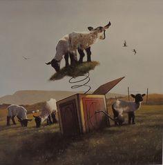 Jimmy  Lawlor    ACRYLIC    Spring Lambs