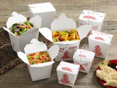 Fold-Pak Take-Out Food Containers Family