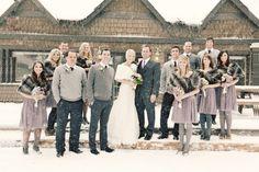 Winter bridesmaid dresses 2014 #CapeResortsWedding #NicoleMillerBridal