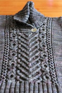 (Can you figure it out?) I heart Aran cabled pullover #Ravelry