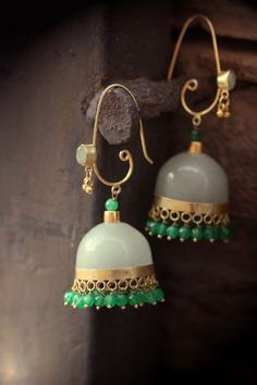 White Metal Party Wear jhumkha Earrings All Type Of Stylist Jhumkha Earrings India Jewelry, Ethnic Jewelry, Antique Jewelry, Vintage Jewelry, Jewellery, Sea Glass Jewelry, Silver Jewelry, Turquoise Jewelry, Jewelry Patterns