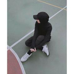 Niqab Fashion, Modern Hijab Fashion, Street Hijab Fashion, Muslim Fashion, Hijab Sport, Sports Hijab, Hijab Fashionista, Casual Hijab Outfit, Hijab Chic