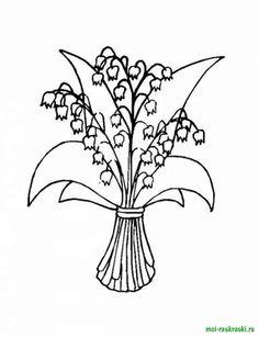 Раскраски цветы колокольчики. Скачать и распечатать раскраски цветы колокольчики