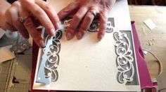 Tattered Lace Top Tips with Nancy Watt - YouTube