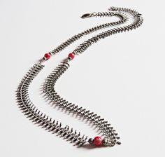 Elisa #Collares #Metal #Cristal #Accesorios #Hechoamano #carambascarambitas #Necklaces #Glass #Handmade #Accesories