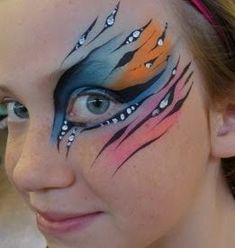 Image result for face painting eye designs