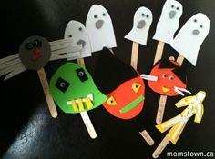 Halloween Puppets!