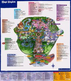 Good HD Wallpaper And Background Photos Of Magic Kingdom Park Map For Fans Of  Orlando Images.