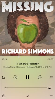 You must listen to this podcast!  Where is Richard Simmons and why hasn't he been seen since 2004?