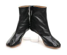 MARTIN MARGIELA S38WU0173 TABI BOOTS BLACK