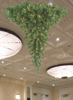 1000+ images about Hanging Christmas Trees ~~ on Pinterest | Upside down christmas tree ...