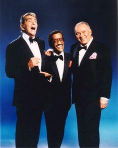 Dean Martin, Sammy Davis Jr. & Frank Sinatara