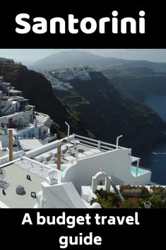 How to travel to Santorini on a budget. A guide to the cheapest way to travel, stay and enjoy your time on this exclusive island. Cheap things to do in Santorini on a backpackers budget. Santorini Travel, Greece Travel, Ways To Travel, Travel Tips, Travel Advice, Cheap Travel, Budget Travel, Beautiful Islands, Travel Guides