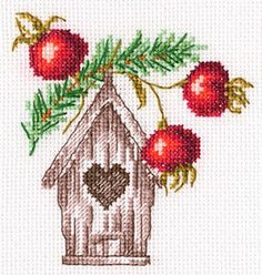 Stitch 2, Cross Stitch, Rooster, Christmas Crafts, Flag, Clock, Embroidery, Home Decor, Crossstitch