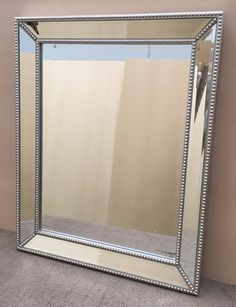 Wall Mirror - Elsa Wall Mirror. This quality wall mirror will beautify and style your room. Shop from our large range at SHINE MIRRORS 60x75cm
