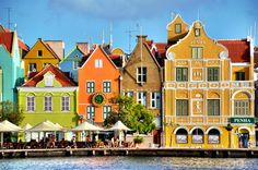 One of my favorite places, Willemstad on Curacao