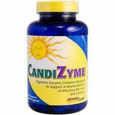 Renew Life Candizyme Multi Enzyme Supplement - Candida & Parasites - Greens & Detox | Body Energy Club Supplements